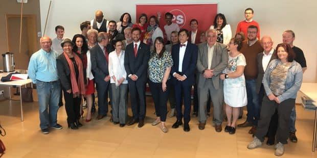 Le PS de Mons a présenté 34 de ses candidats - La DH