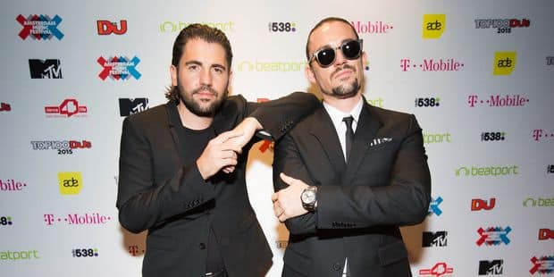 Dimitri Vegas & Like Mike remportent le MTV EMA Awards du meilleur artiste belge - La DH