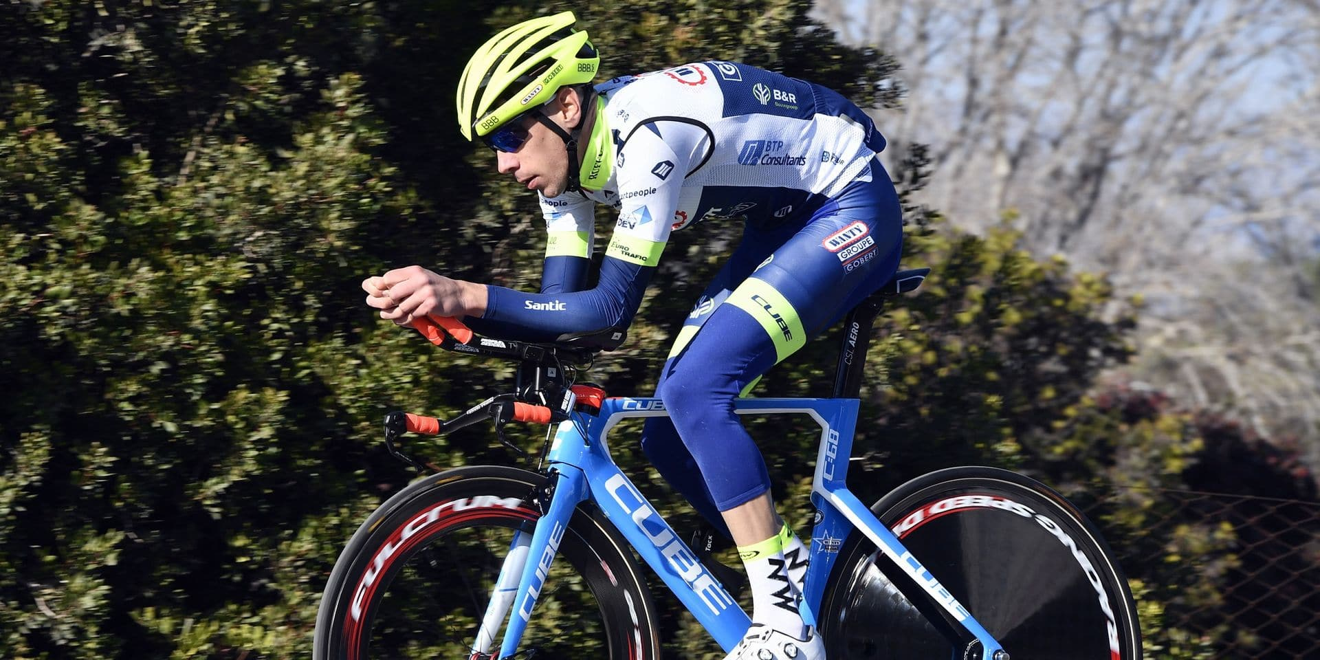 """De Clercq: """"Après le placement de ma hanche artificielle, je n'ai plus jamais été le même coureur"""""""