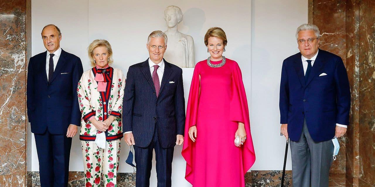 Astrid de Belgique, une princesse tout en style avec Gucci