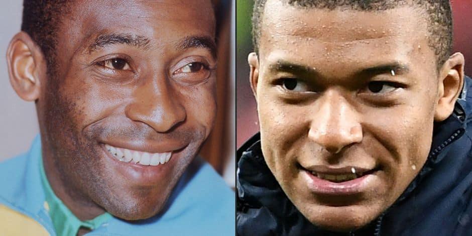 Football: La réponse de Kylian Mbappé à Pelé !