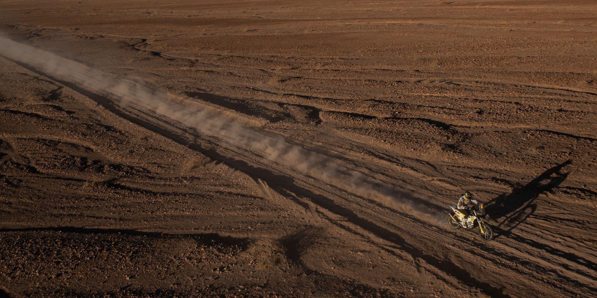 Dakar 2020: Pablo Quintanilla s'impose chez les motos, Brabec toujours en tête