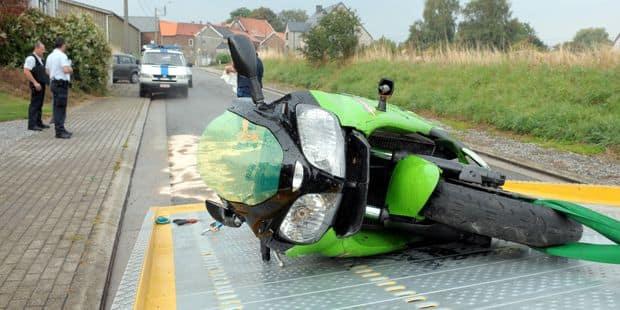 Hognoul: un motard perd le contrôle de son véhicule et décède - La DH