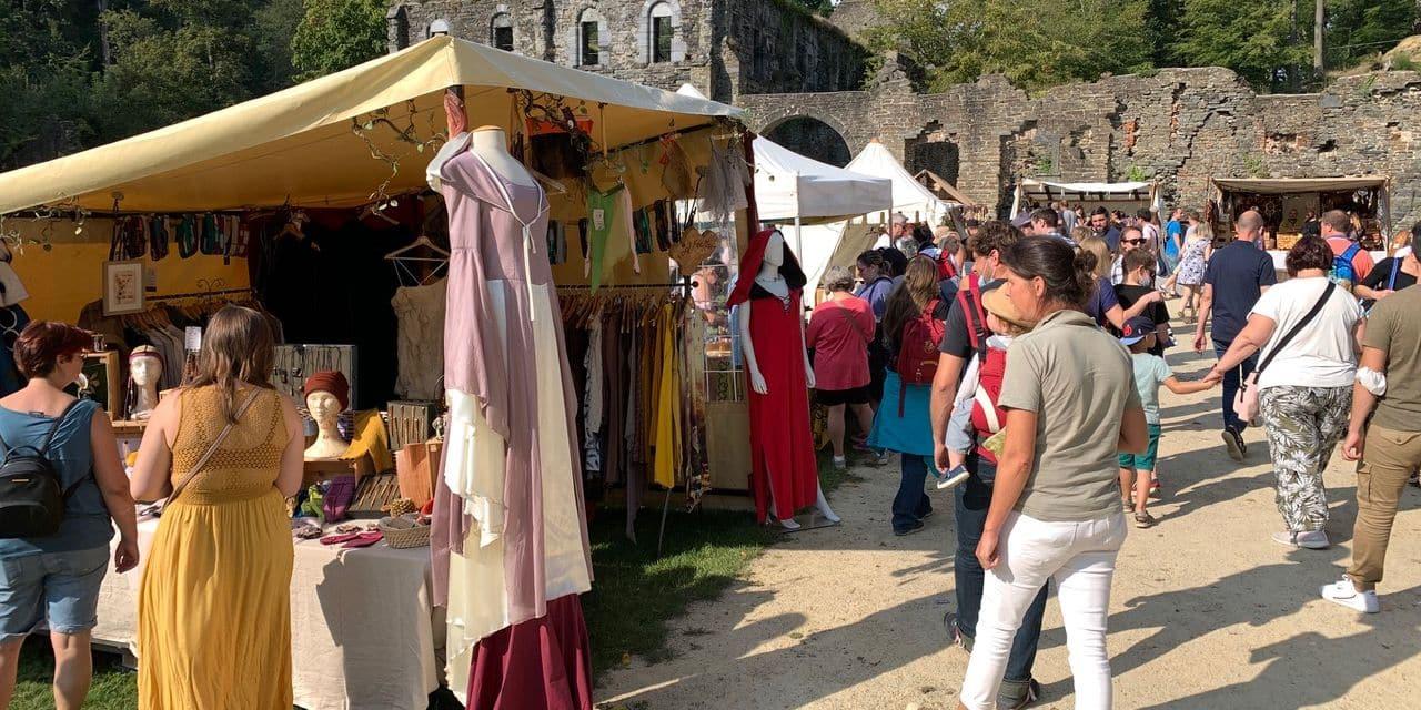 Joli succès pour le Village médiéval dans l'abbaye de Villers-la-Ville