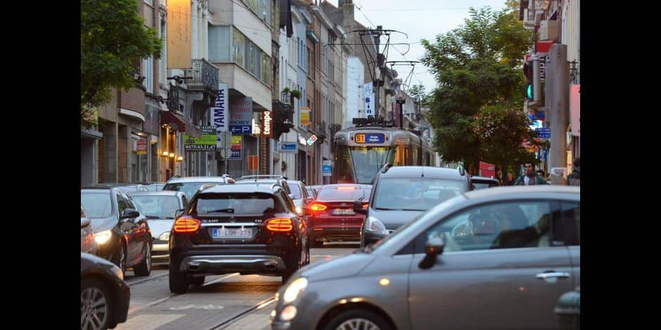 Bruxelles - Trafic urbain