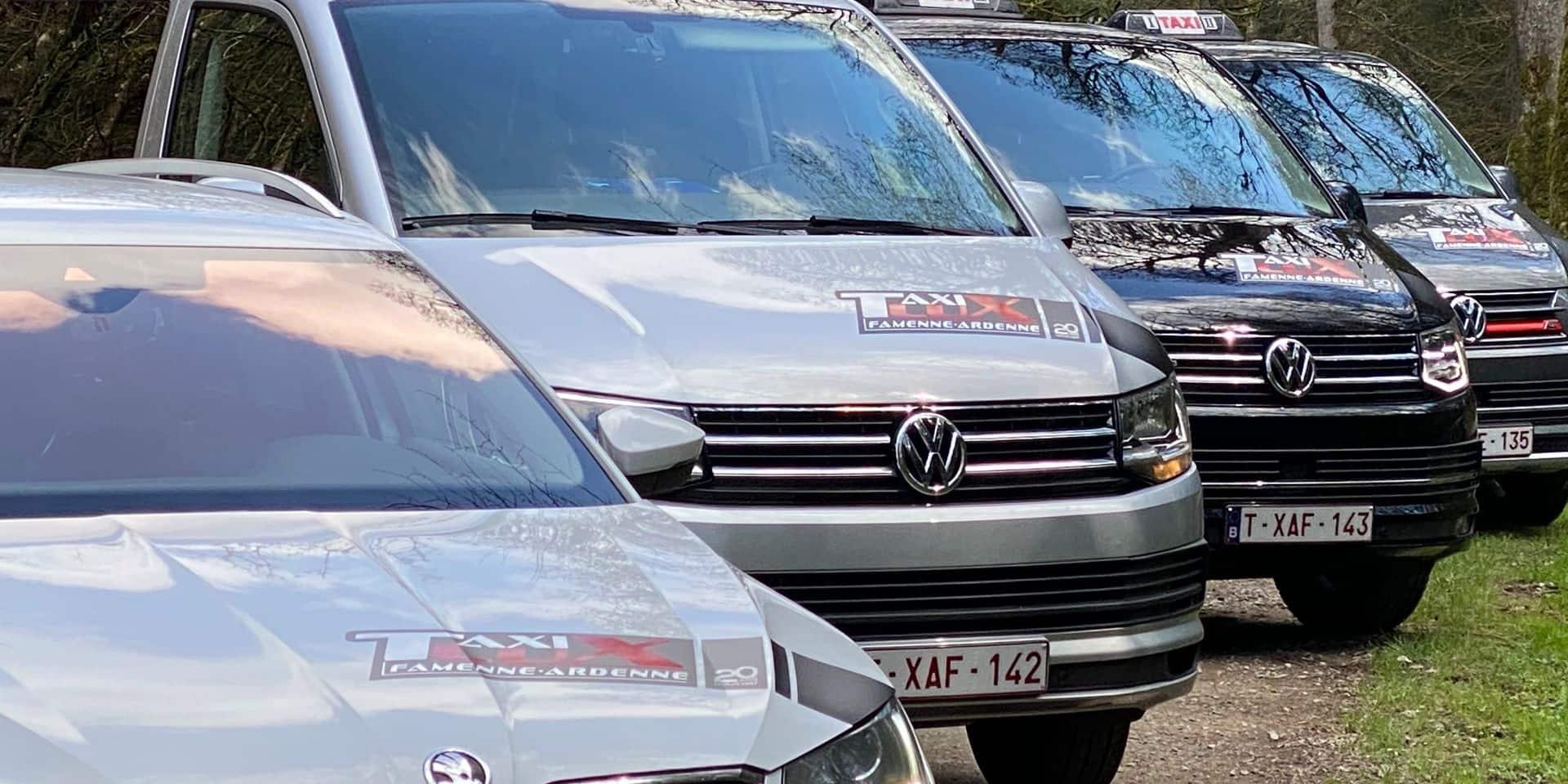 Les chauffeurs de taxi, comme ceux de Taxilux à Libramont, doivent aussi s'adapter