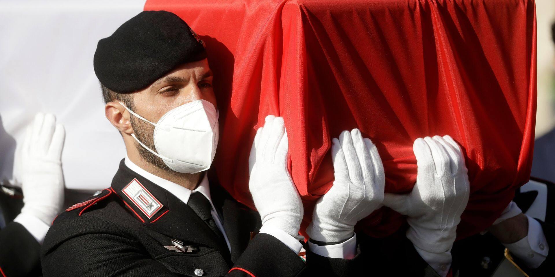 """Assassinat de l'ambassadeur d'Italie en RDC: la veuve de l'ambassadeur italien évoque une """"trahison"""""""