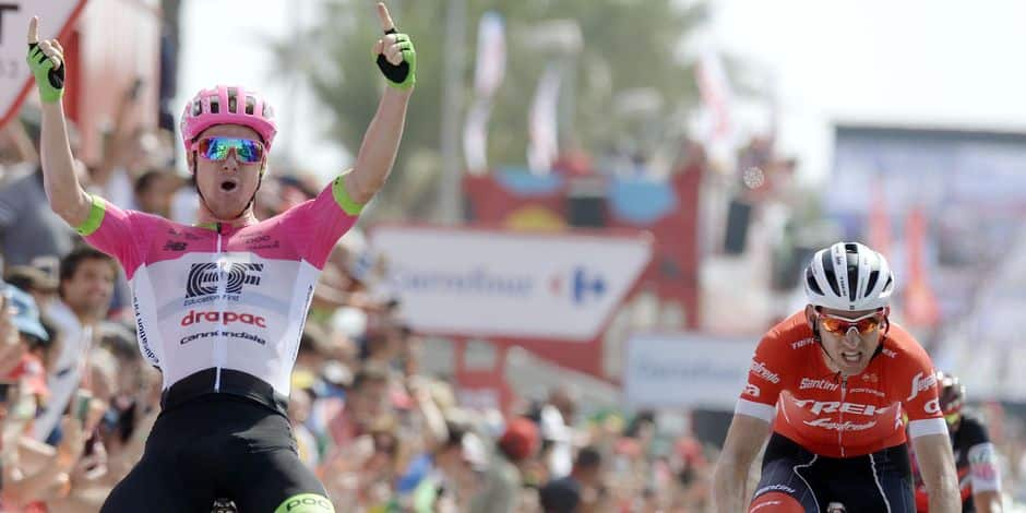 La Vuelta. Rudy Molard prend le maillot rouge