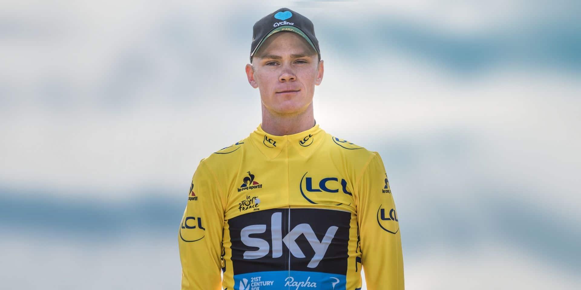 """À 35 ans, Chris Froome vise un 5e Tour de France: """"L'âge, c'est dans la tête"""""""
