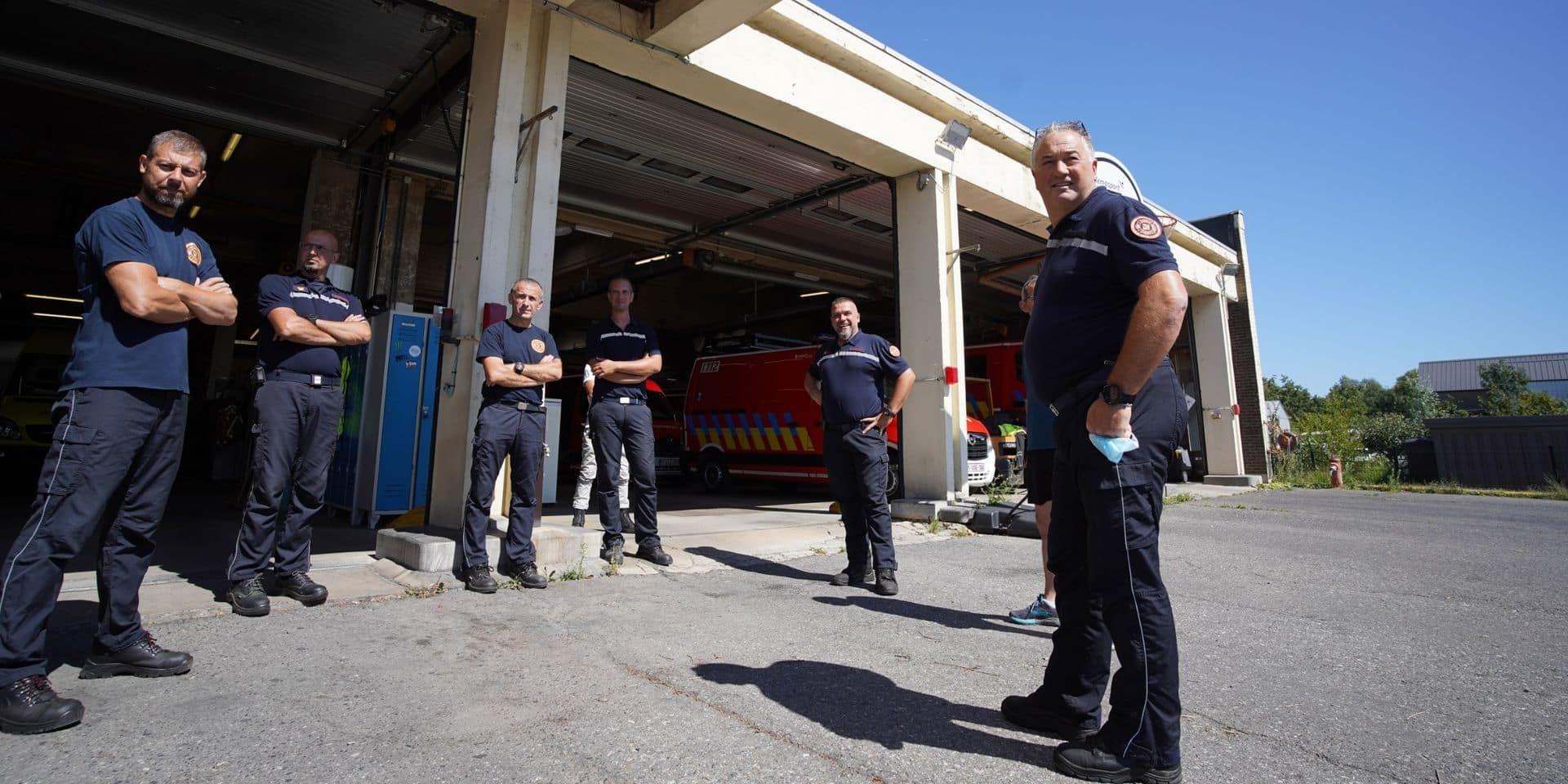 Nouvelle caserne des pompiers à Tubize: ça avance, enfin!
