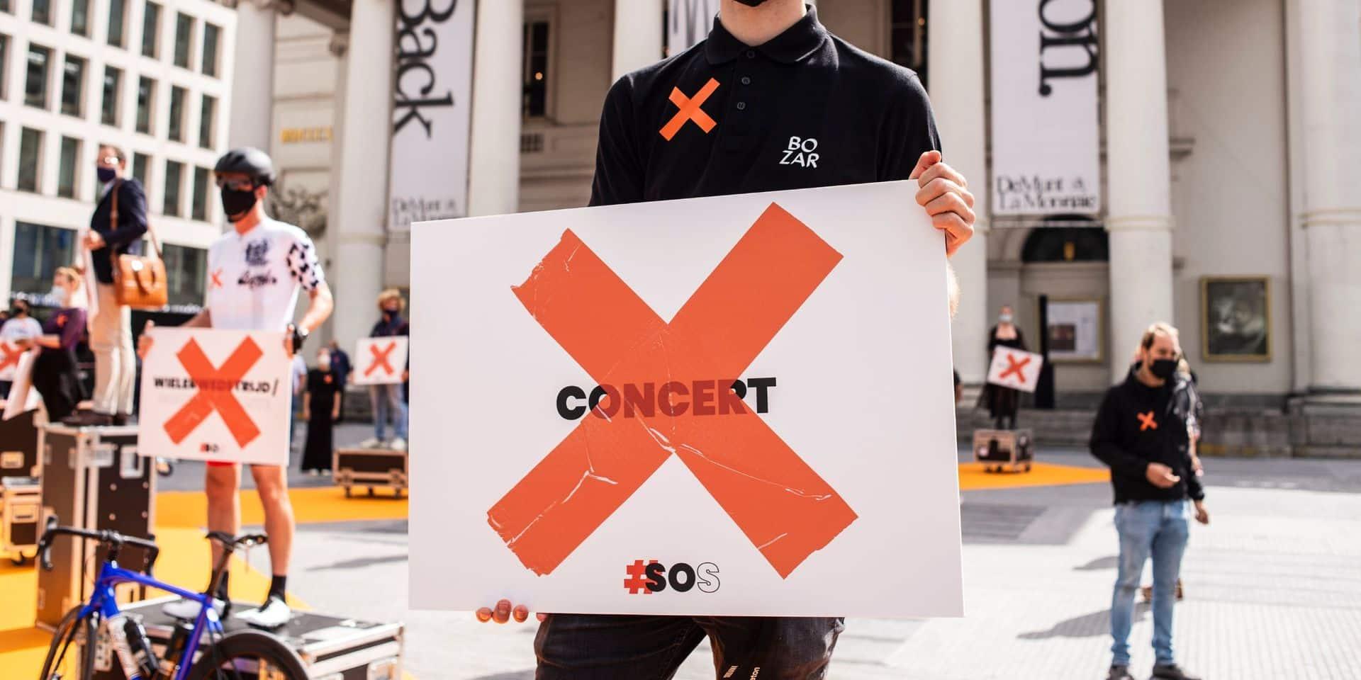 Le collectif #Soundofsilence lance une campagne en ligne pour sauver le secteur événementiel