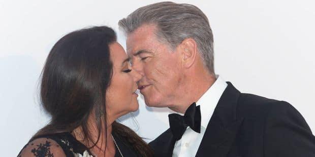 A Cannes, Pierce Brosnan est toujours aussi amoureux de sa femme - La DH