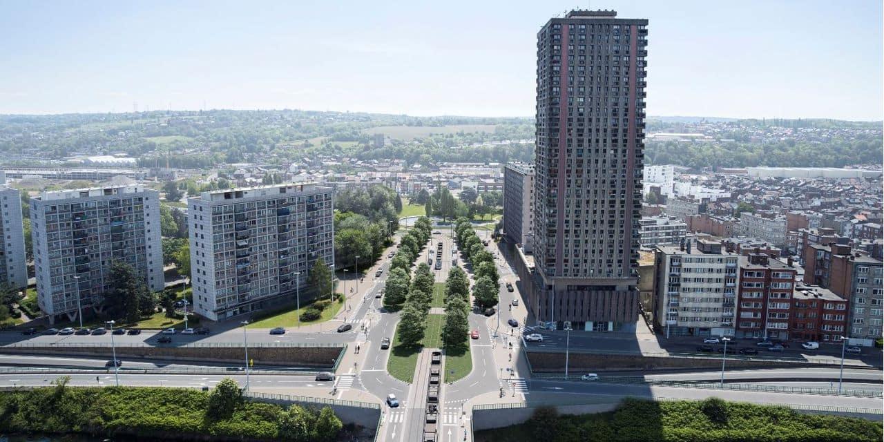 Tram : un chantier mobile entre la sortie du pont Atlas et l'avenue de Lille