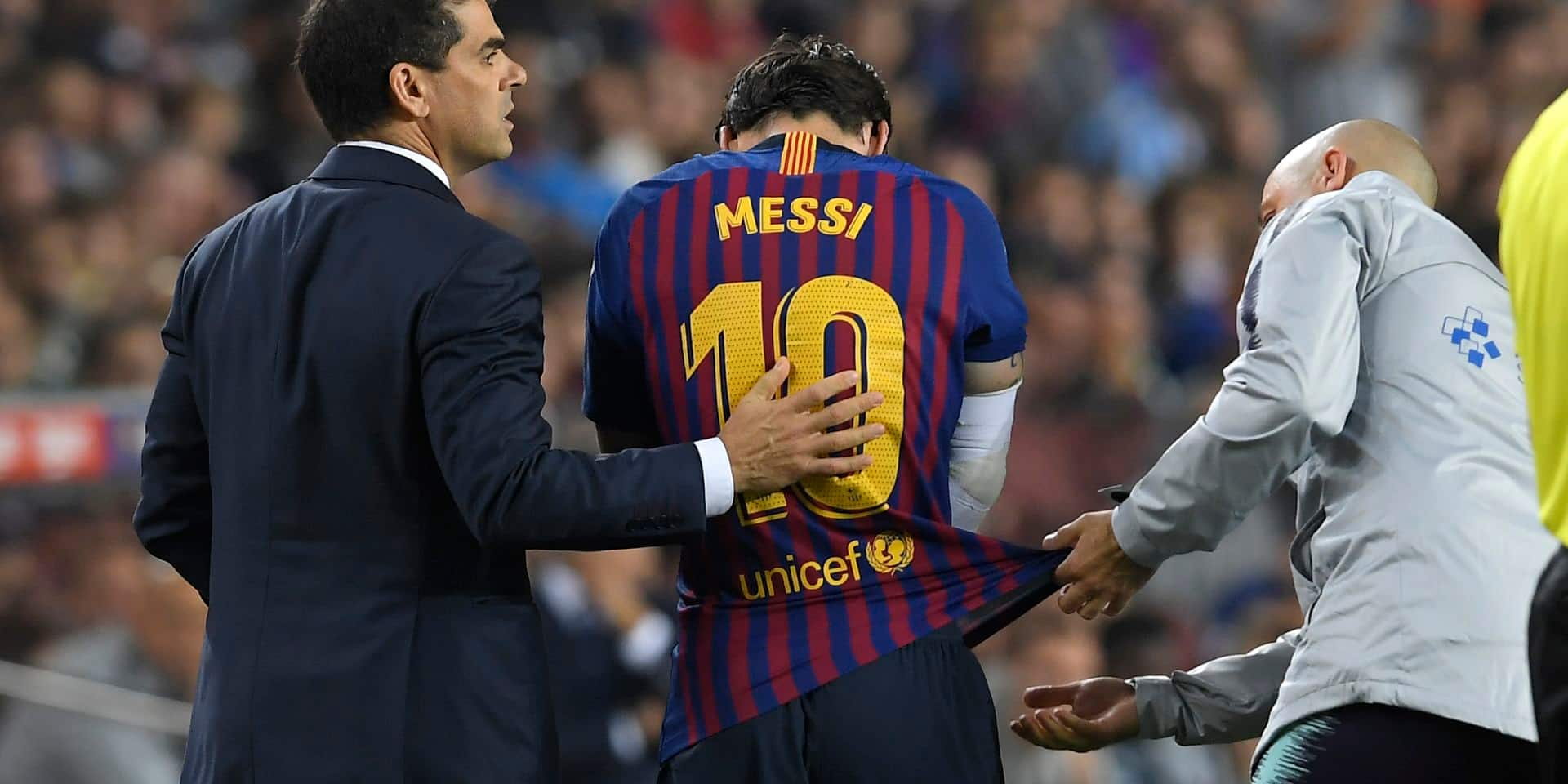 Blessé face à Séville, Lionel Messi connait la durée de son absence (VIDEO)