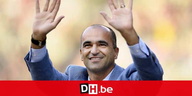 Belgium's national soccer team Red Devils head coach Roberto Martinez pictured during the 2018 edition of the AG Insurance Memorial Van Damme IAAF Diamond League athletics meeting, Friday 31 August 2018 in Brussels. BELGA PHOTO JASPER JACOBS