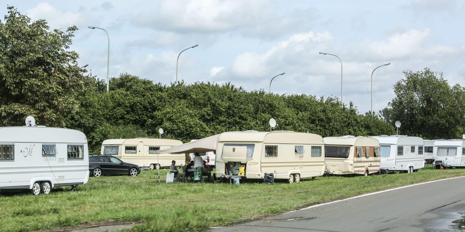 Ghlin: Les gens du voyage ont plié bagage