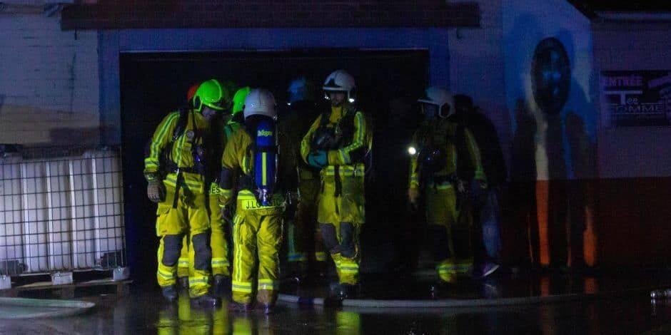 Hannut: une personne décède dans un incendie