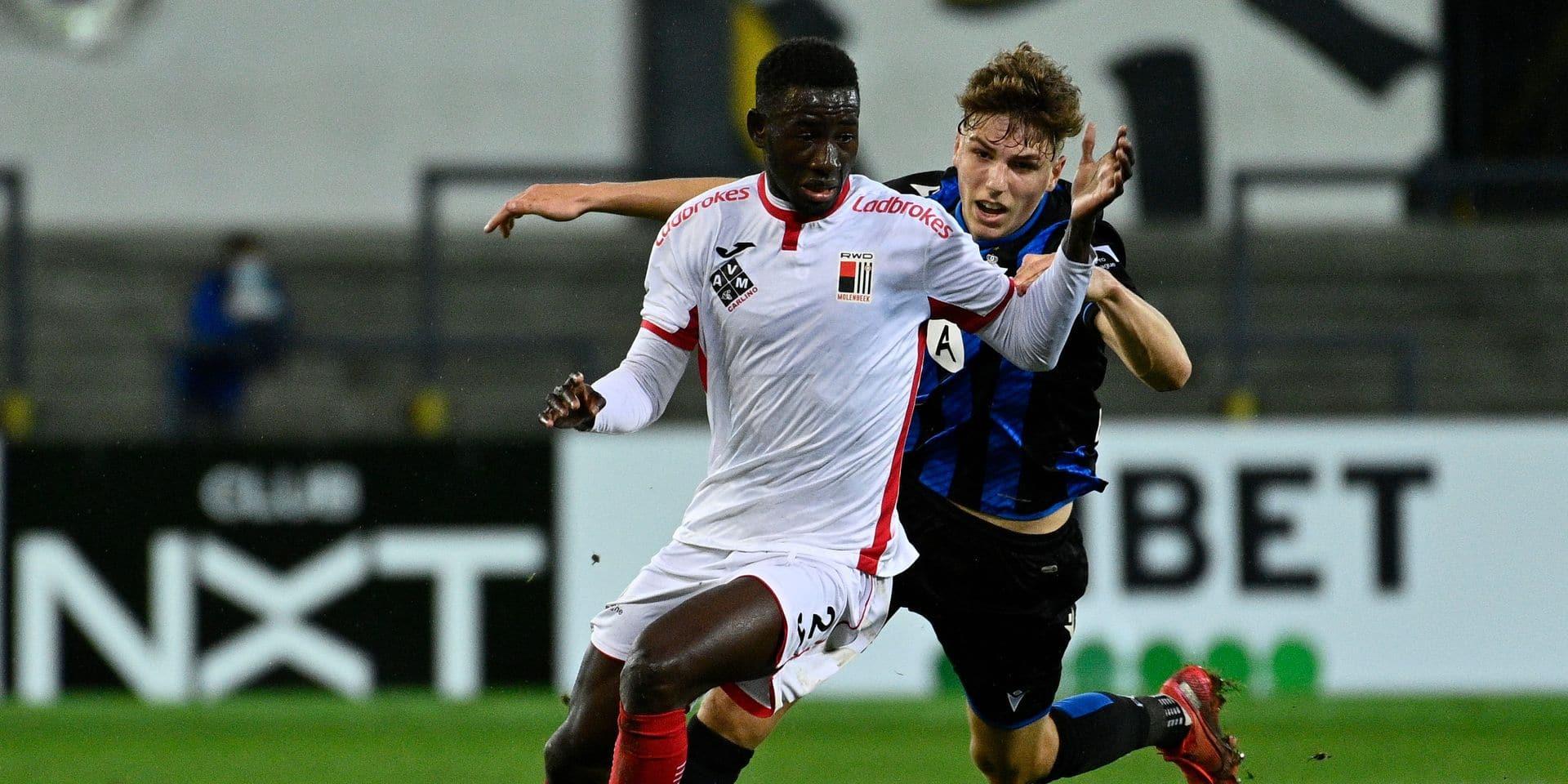 """Deuxième titularisation pour Abdoul Karim Danté (RWDM): """"Je dois être prêt à tout moment"""""""