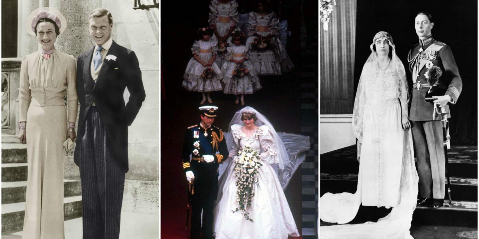 Les mariages anglais qui ont marqué l'histoire