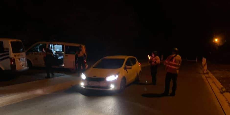 22 permis de conduire retenus lors d'un contrôle par la zone de police Fagnes !