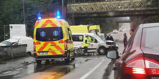Plusieurs blessés dans un accident de la circulation à Saint-Ghislain - La DH