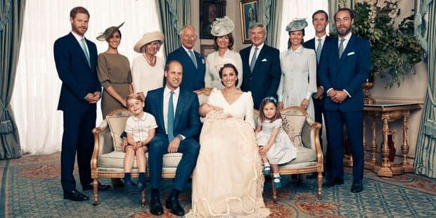 Voici les photos officielles du baptême du prince Louis - La DH