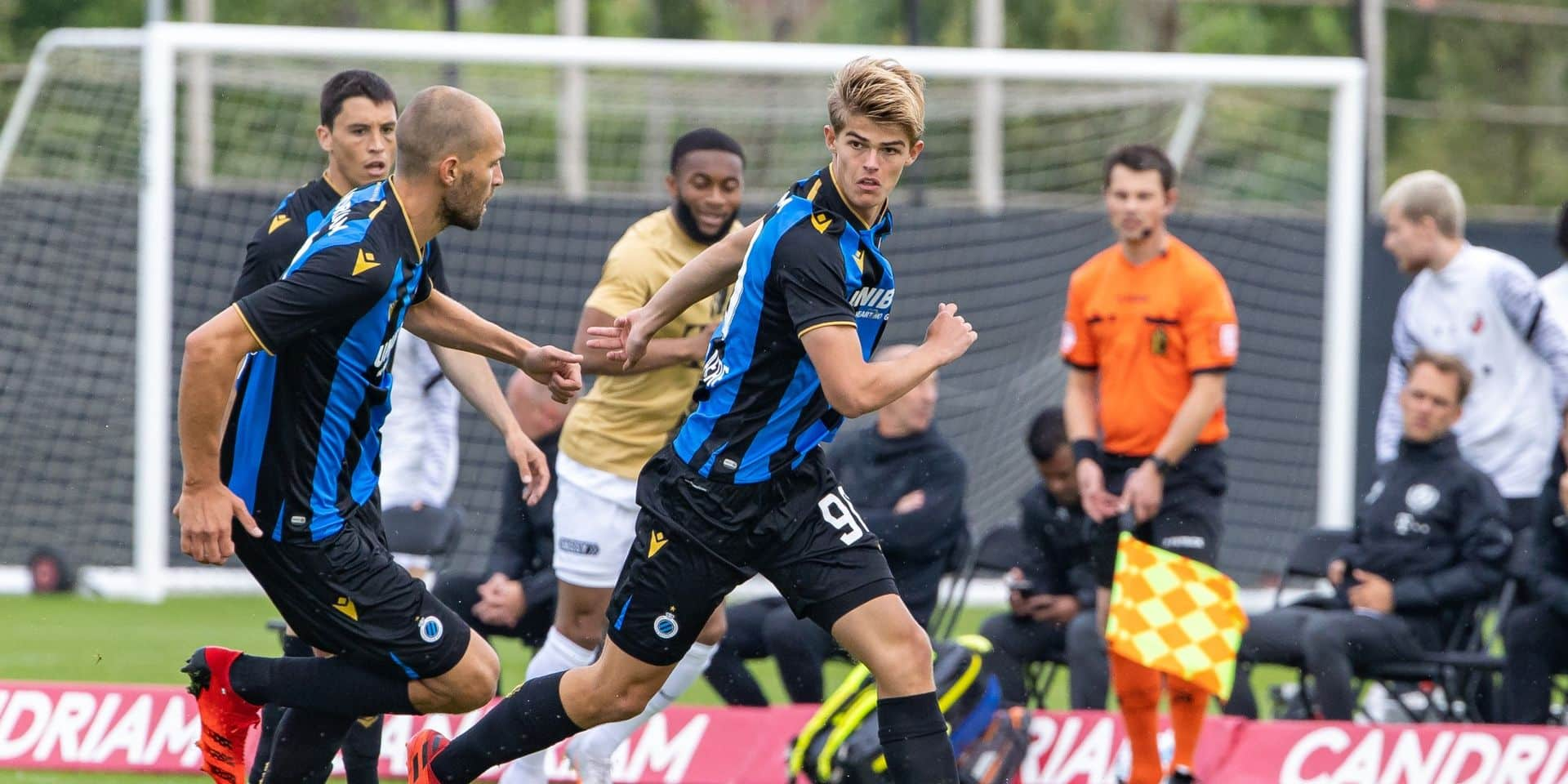 Le FC Bruges s'incline face à Utrecht en match amical