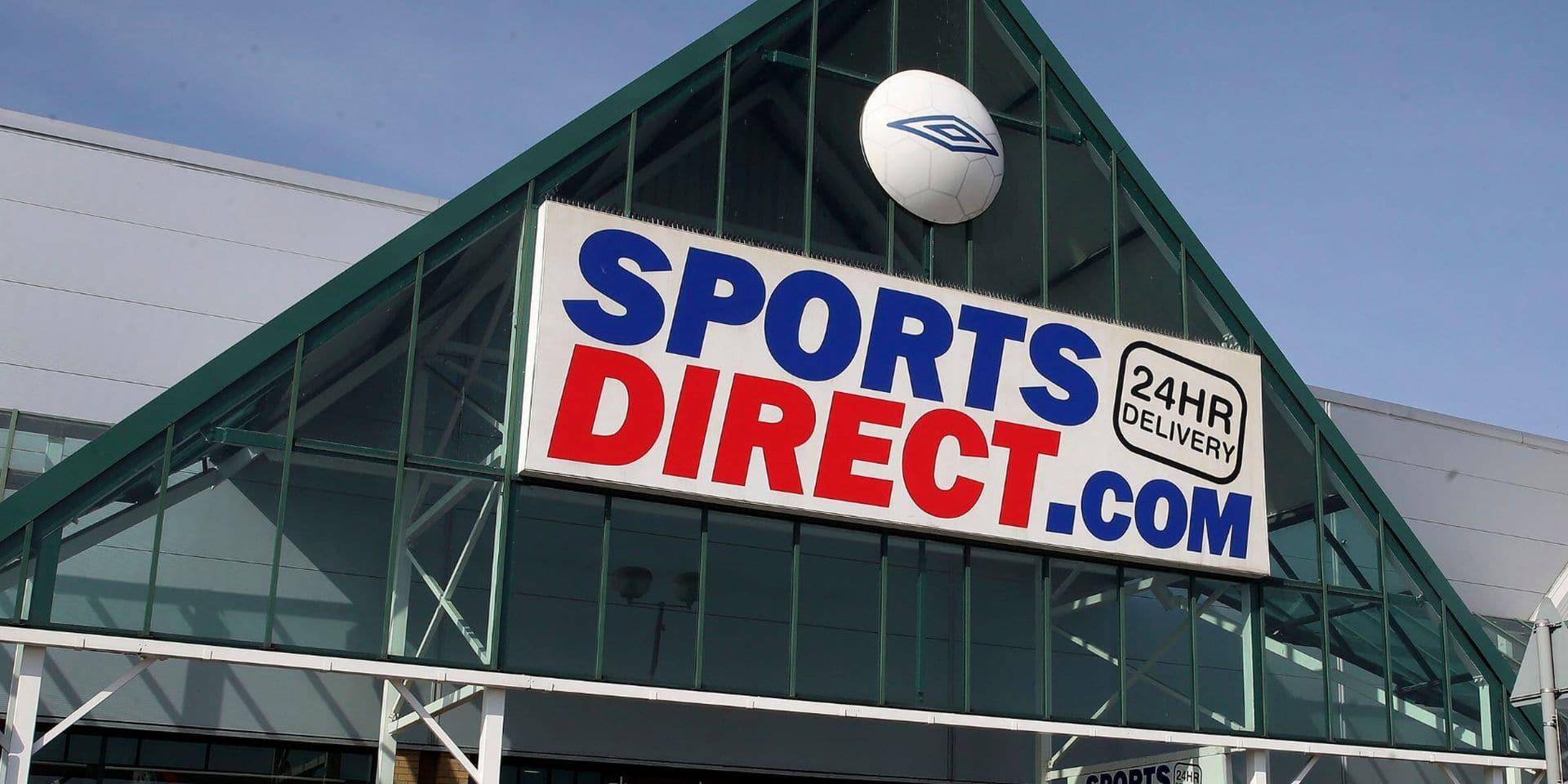 Préavis de grève suspendu chez Sports Direct
