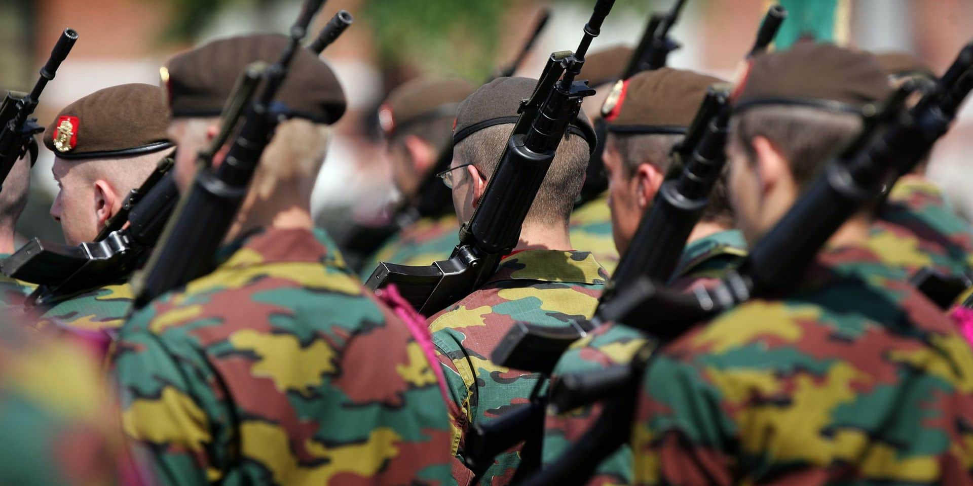 """Le président du syndicat militaire tire la sonnette d'alarme: """"L'armée belge est en bonne voie pour devenir une armée fantôme"""""""