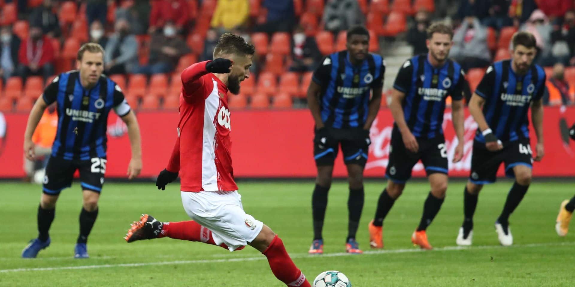 Standard-Bruges, une soirée débridée sous fond de penalties contestés