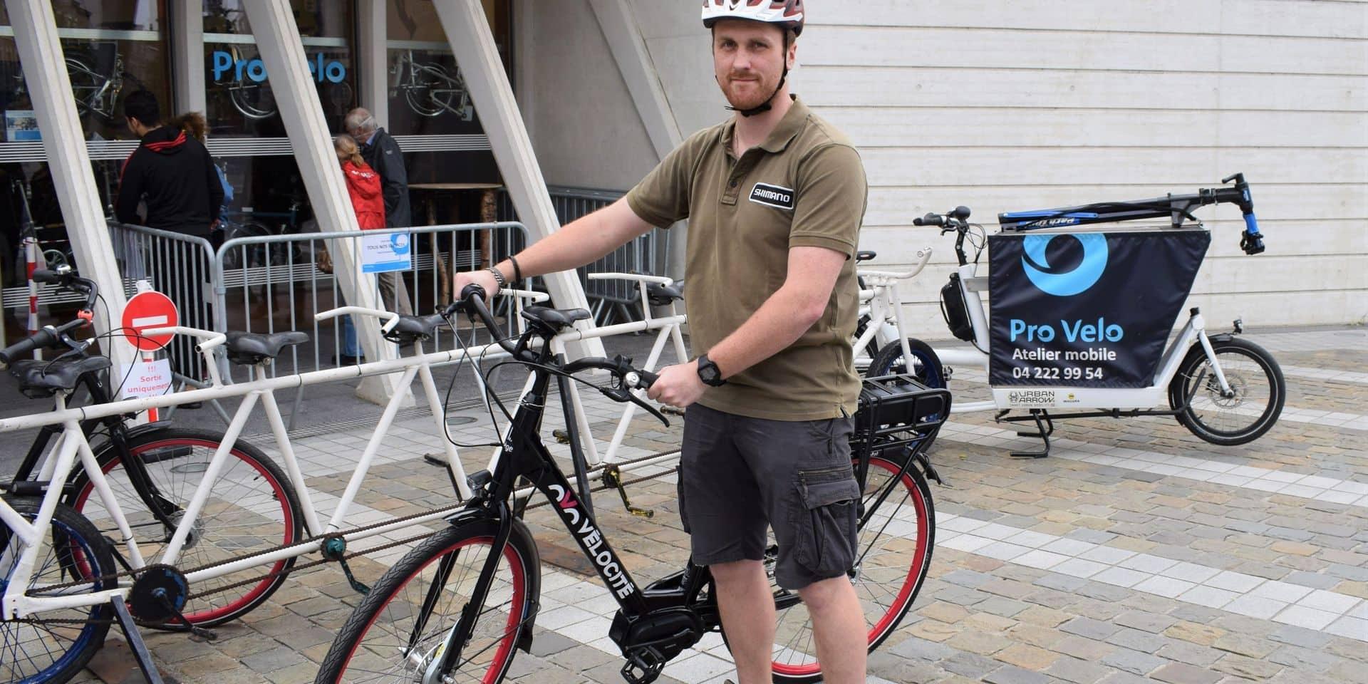 Liège lance la location de vélos à assistance électrique