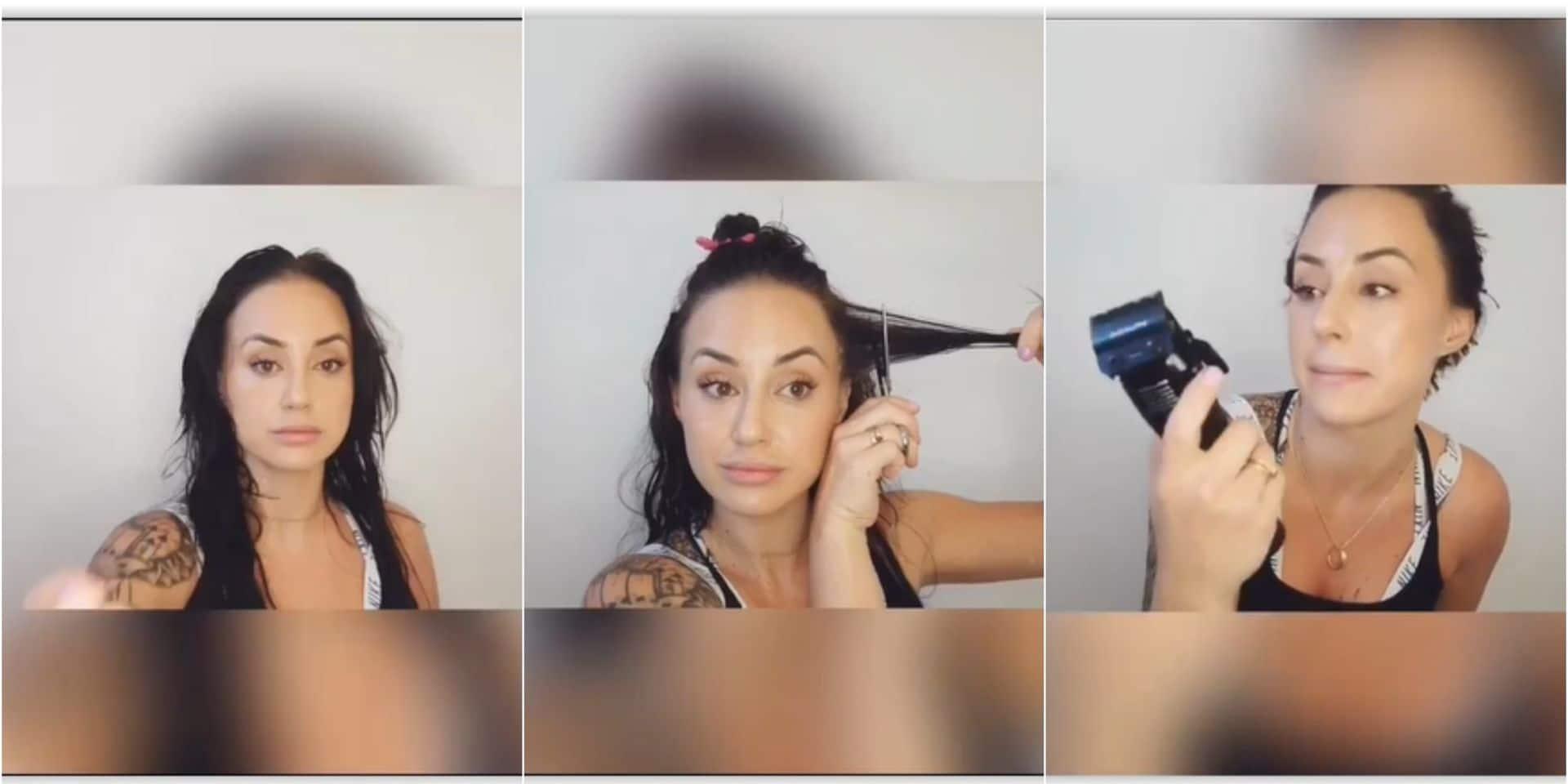 Se couper les cheveux soi-même : la vidéo qui... donne des frissons !