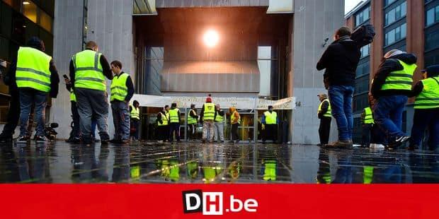 Gilets jaunes : journée tendue à Bruxelles
