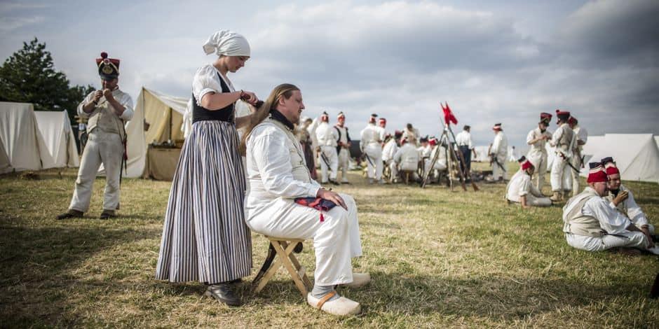 Bivouacs et spectacles les 19 et 20 juin sur le champ de bataille de Waterloo