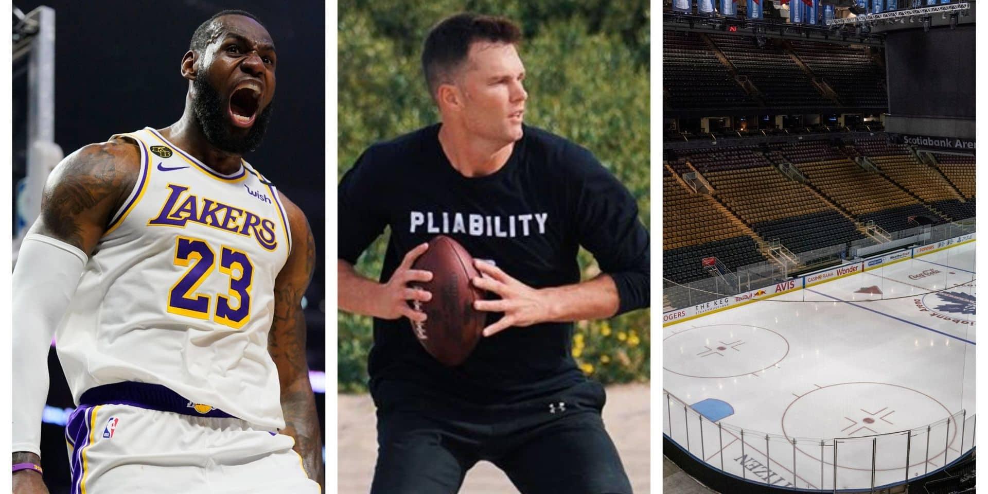NBA, NFL, NHL, MLB, MLS et Covid-19: où en est-on pour la reprise?