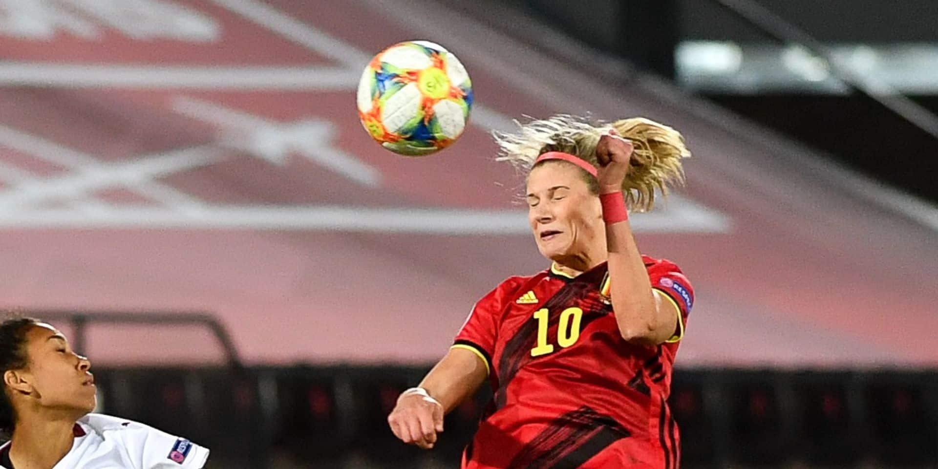 Justine Vanhaevermaet ne jouera pas contre l'Espagne et le Luxembourg