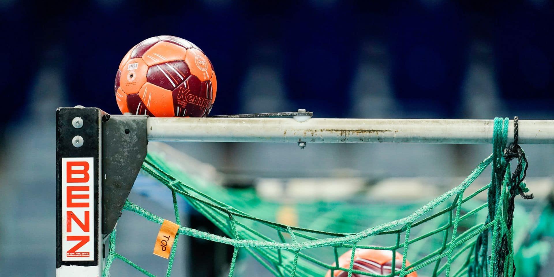 Des handballeurs espagnols obligés... de porter un masque buccal pendant un match !