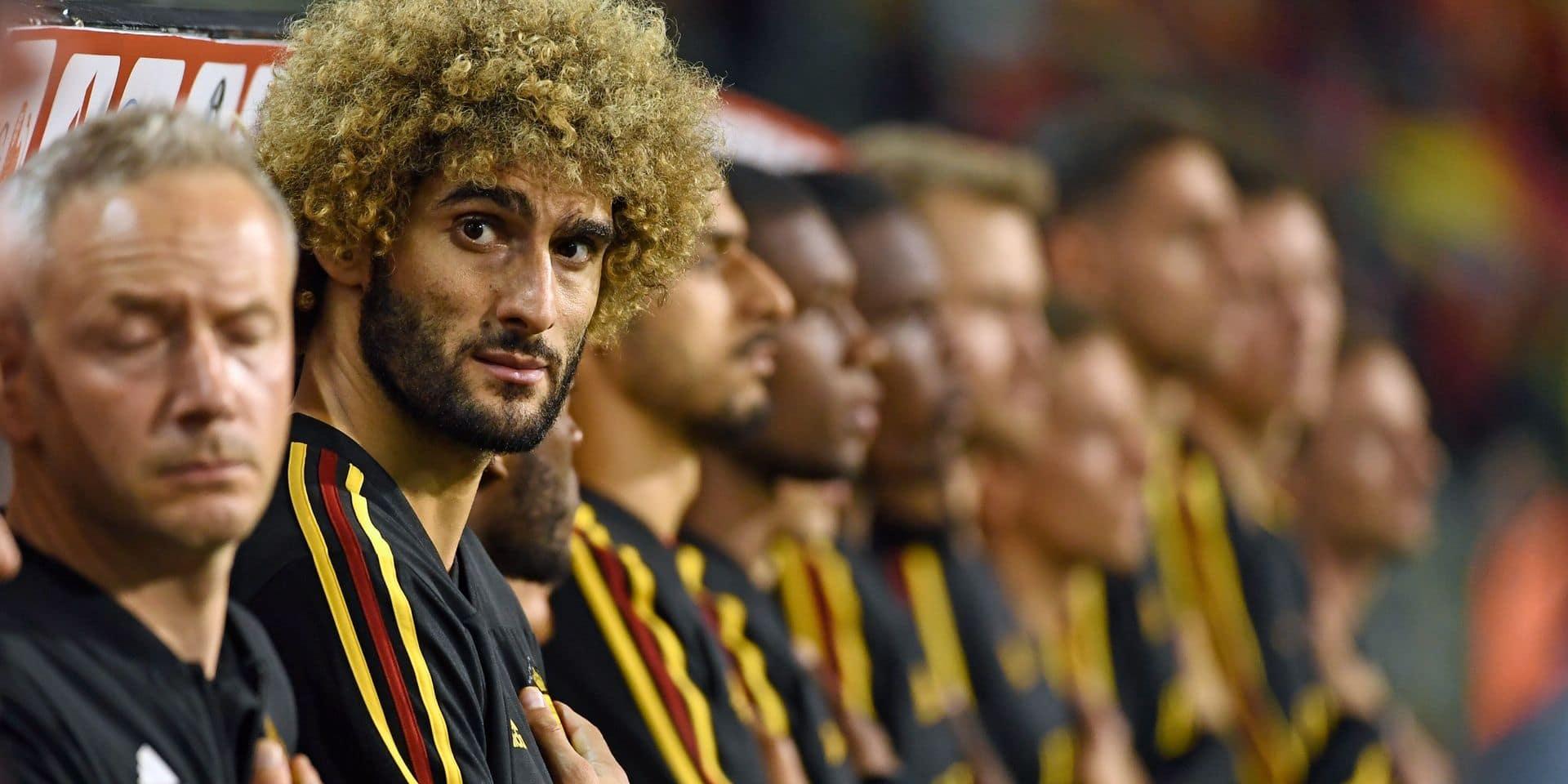 """Marouane Fellaini passe les Diables en revue: """"Pas la peine d'aller au duel avec Lukaku"""""""