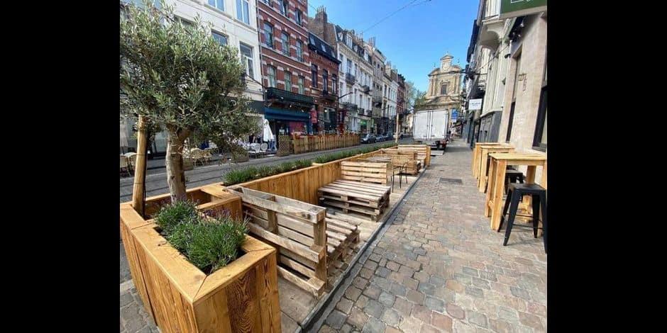 La Ville de Bruxelles pérennise l'extension des terrasses Covid