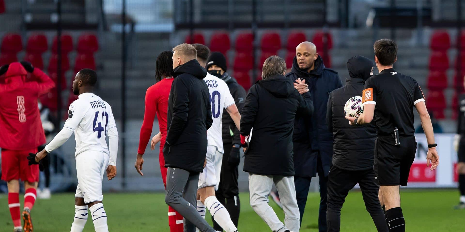 """Frankie Vercauteren n'a pas oublié ses anciens joueurs: """"J'ai entendu des Anderlechtois utiliser mes paroles"""""""