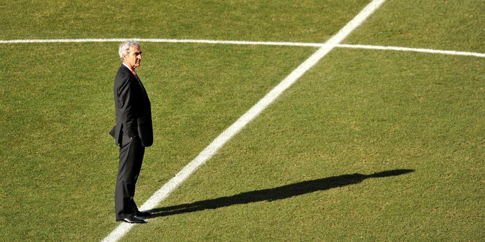 """PSG-Atalanta: Domenech s'en prend à """"la légende des tacticiens italiens"""", un journaliste le remet à sa place"""