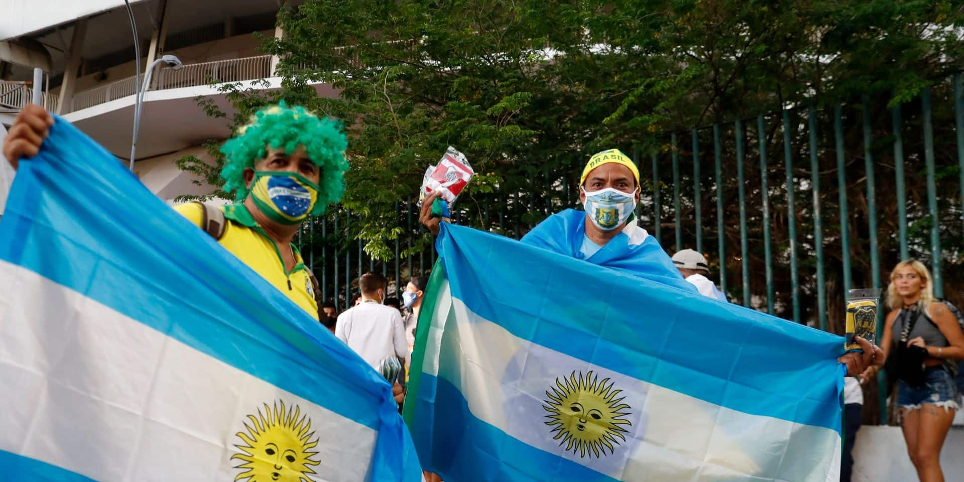 Copa America: de nombreux faux tests PCR détectés chez les supporters pour la finale