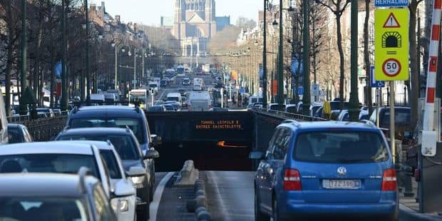 Tunnel Léopold II: plusieurs alternatives seront proposées aux navetteurs pendant les travaux - La DH