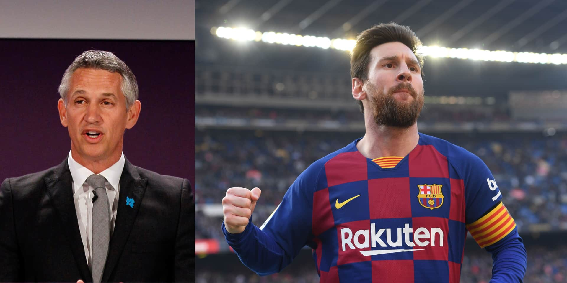 """La déclaration d'amour de Gary Lineker à Lionel Messi: """"Il transforme le sport en art"""""""
