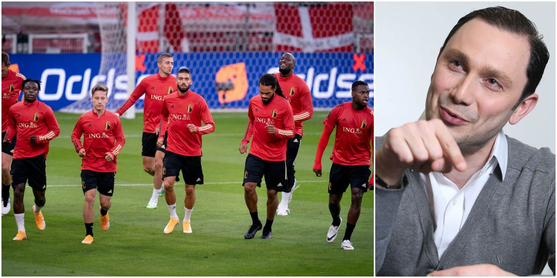 """Emiliano Bonfigli commentera les Diables depuis une cabine à Bruxelles: """"C'est le côté moins sexy"""""""