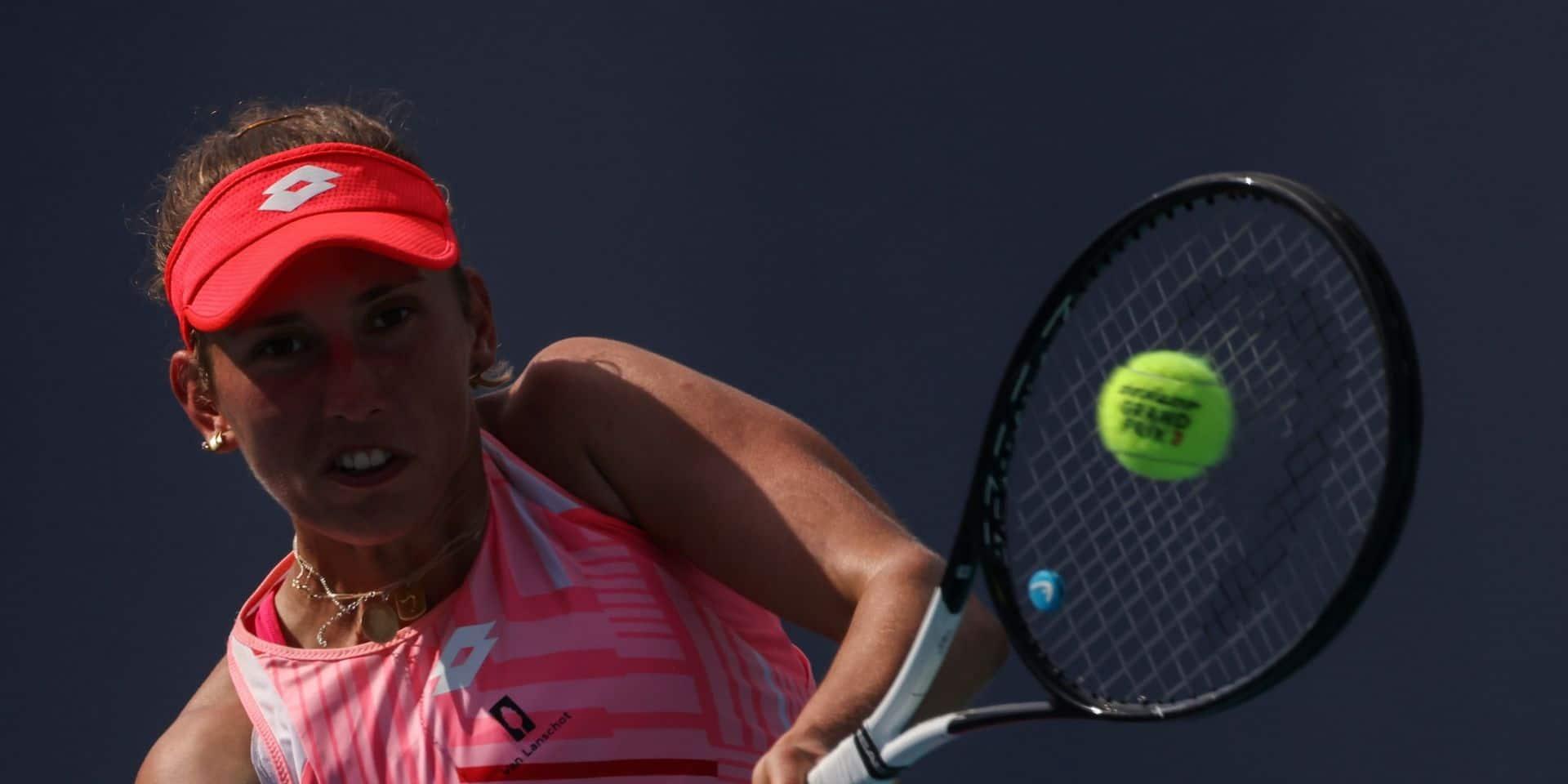 WTA Charleston: Elise Mertens battue par Alizé Cornet pour ses débuts sur terre battue