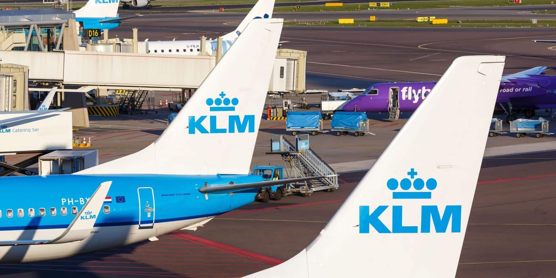 Le personnel au sol de KLM va de nouveau faire grève dimanche