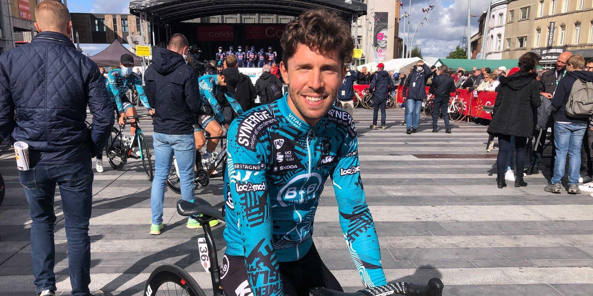 """Van Genechten termine sa carrière sur une chute à Paris-Roubaix: """"Fier de ce que j'ai réalisé"""""""