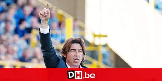 Standard's head coach Ricardo Sa Pinto pictured during the Jupiler Pro League match between Club Brugge and Standard de Liege, in Brugge, Sunday 22 April 2018, on day five (out of ten) of the Play-Off 1 of the Belgian soccer championship. BELGA PHOTO KURT DESPLENTER