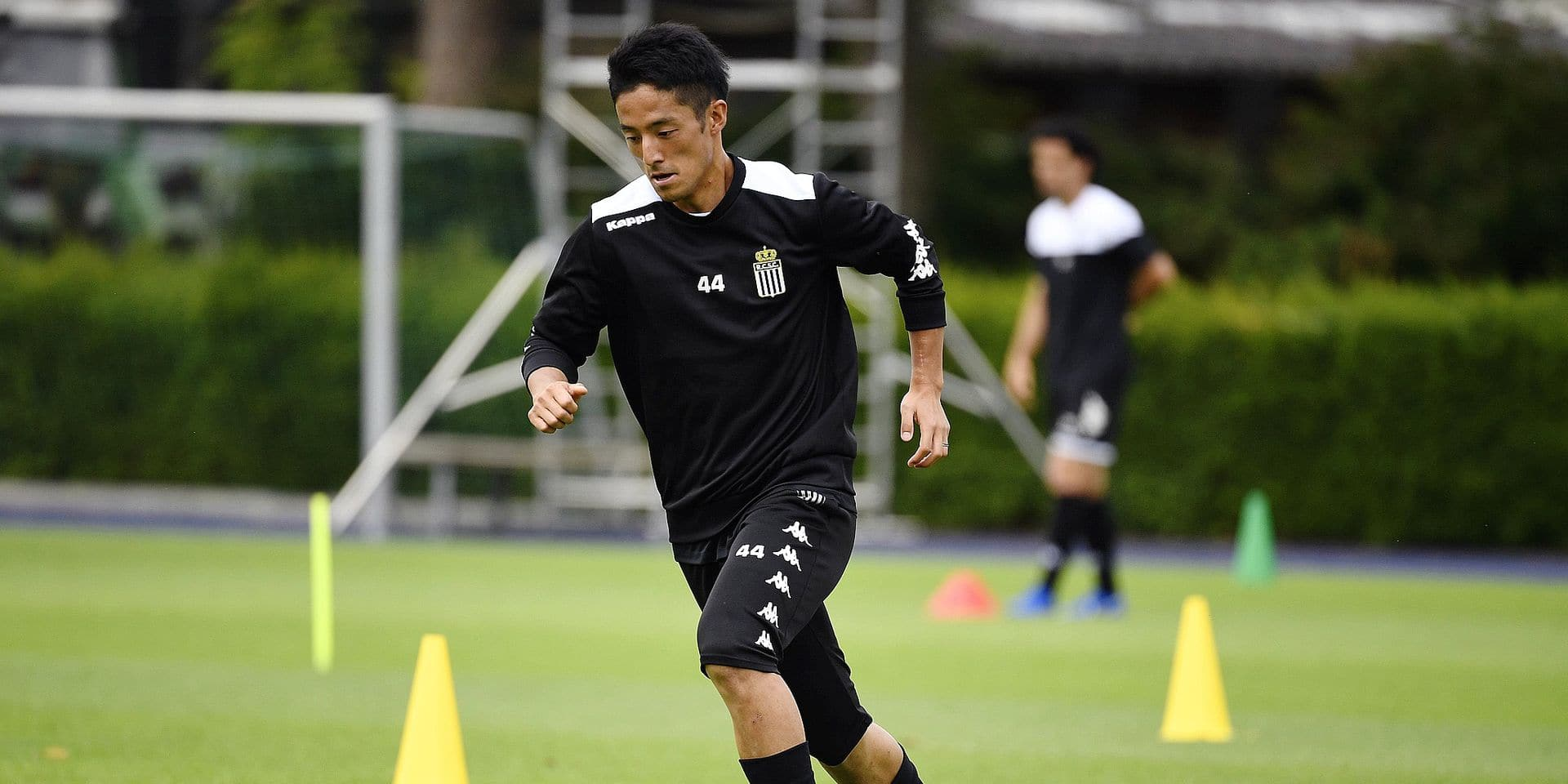 KAISERAU GERMANY- JULY 7 : Ryota Morioka midfielder of Charleroi pictured during a pre-season training summer stage camp in Sporthotel in Kaiserau 07/07/2019 ( Photo by Philippe Crochet / Photonews
